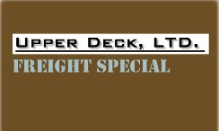 Upper Deck FREIGHT Special!