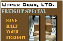 Upper Deck FREIGHT Special til July 25th!