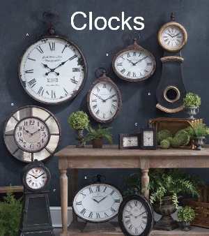 Decorative Clocks For Walls wall decor-clocks-mirrors | doug thorson sales
