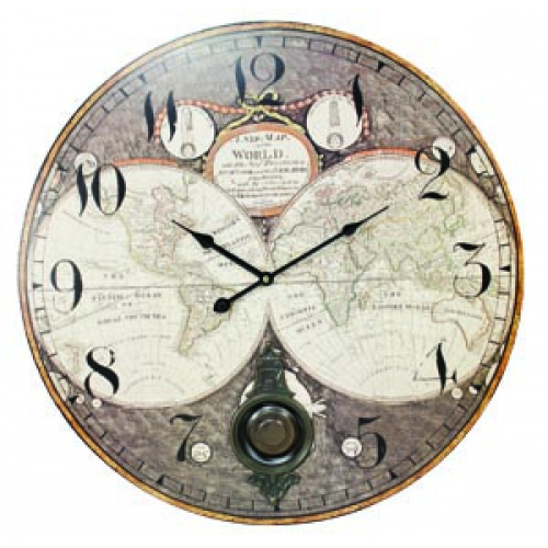 World map clock 23d doug thorson sales uw2371 gumiabroncs Image collections